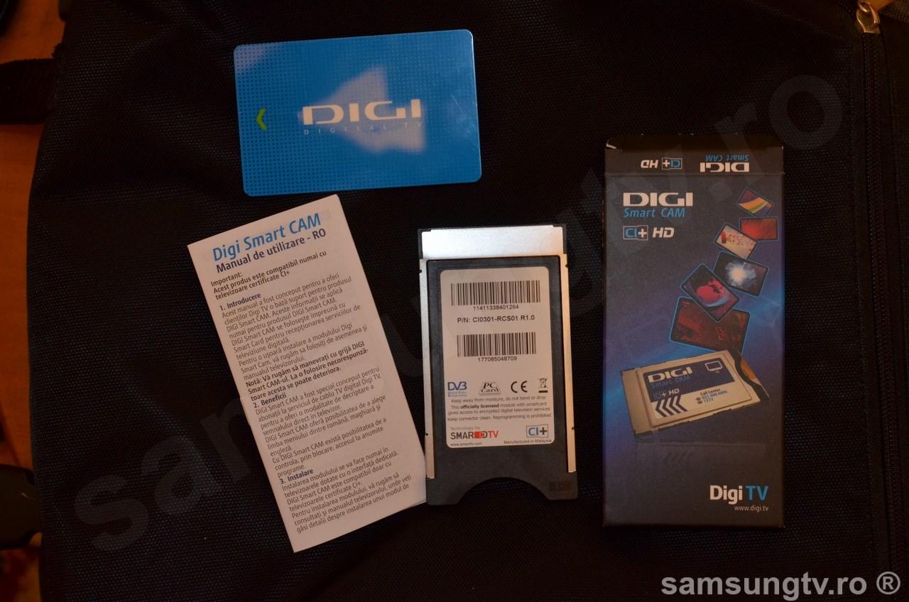 Digi Smart CAM CI+ HD - Instalare card Review Pareri