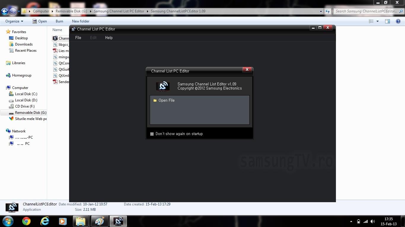 samsung channellistpceditor 1.09