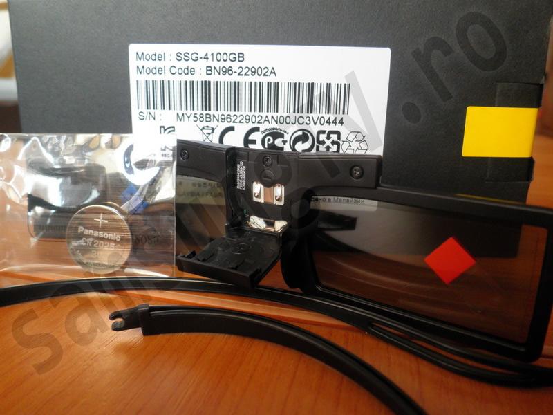 Ochelari 3d samsung 6100 manual